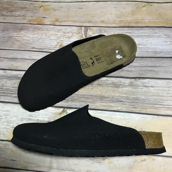 90b29e6839f8 Birkenstock Shoes - Birkis Birkenstock Amsterdam black mule slip on 8